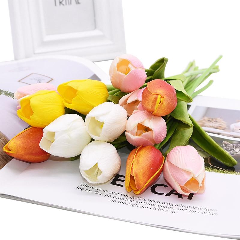 Artificial Tulip Flower Set 10 Pcs